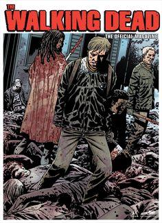 Cover Art for The Walking Dead Magazine #2