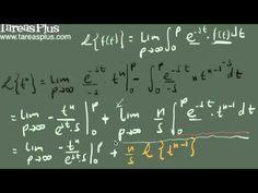Transformada de laplace de la función potencia