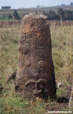 Tiya is among the most important of the roughly 160 archaeological sites discovered so far in the Soddo region, south of Addis Ababa. The site contains 36 monuments, including 32 carved stelae covered with symbols, most of which are difficult to decipher. They are the remains of an ancient Ethiopian culture.