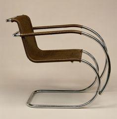 """""""mr"""" armchair, 1927, ludwig mies van der rohe"""