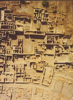 Indus Valley Ancient Civilization (3300–1300 BC; mature period 2600–1900 BC)  This is the Harappa site.  Adam and Eve's twin sons Ganeri and Harapp descendants settled this area of Indus Valley.