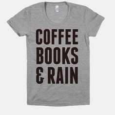 Coffee Books & Rain | HUMAN