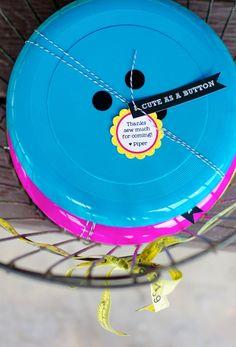 Lalaloopsy Party Favors Button Frisbees #lalaloopsy #partyfavors