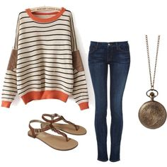 late fall outfit
