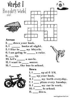Verb Crossword