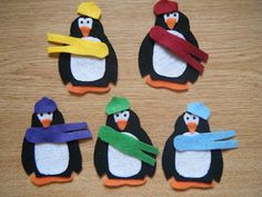 Penguin Theme including songs and poems