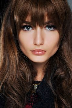 b18381ba9af3eeabda90a5e0c7e5e682 Hairstyle with Bangs Beauty hairstyles with bangs
