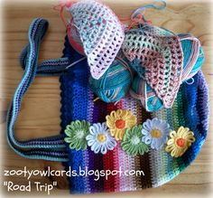Zooty Owl's Crafty Blog: Road Trip Scarves:   Pattern