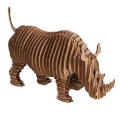 Giant Rambling Robbie Rhino Brn now featured on Fab.