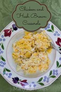 Chicken and Hash Brown Casserole - Marty's Musings