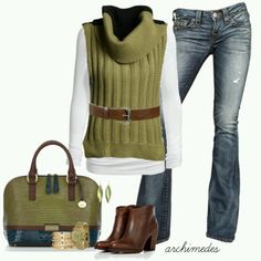 Mom style winter