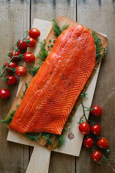 Salmon is full of good fats, which will form and maintain healthy skin cells. Salmon will help your skin retain water, thus keeping it hydrated.