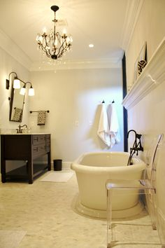 Gorgeous bath.