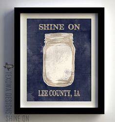 Shine On -  print by Texowa Designs