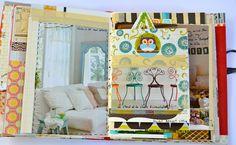 books, book idea, art journal, mari ann, color, journal pages, smash book, ann moss, mary ann