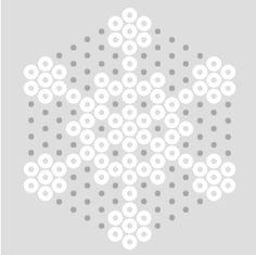 snowflake  - Perler beads