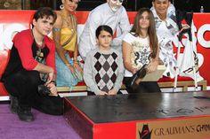 Michael Jacksons kids get handprints immortalized at Graumans Theatre