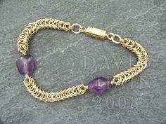 Davidchain Jewelry - Beaded Inca Puino Tutorial
