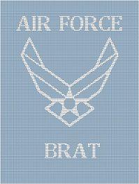 proud air force brat!