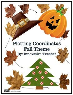 Plotting Coordinates Fall Theme