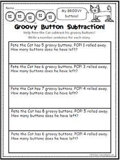 Pete the Cat subtraction