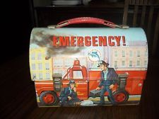EMERGENCY! Dome metal lunchbox 1977 VINTAGE CLASSIC. Great gift from my sister