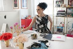 Alice + Olivia's Studio Office