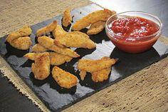 Baked Chicken Fingers #KitchenBoss