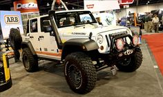 "Our 2012 #SEMA #Jeep #Wrangler on #MSN's ""Hottest Makeovers at SEMA 2012"" list.    #overlanding"