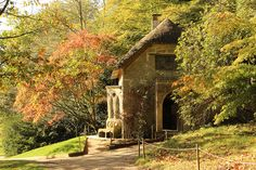 Stourhead Thatched Cottage. This almost looks like a small church<3