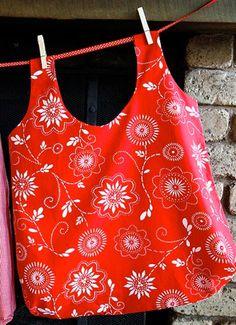 10 reusable grocery bag patterns