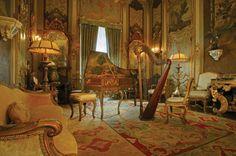 Music room at Vizcaya