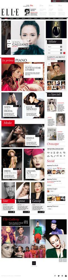 Graphic Design. Web. Fashion | #webdesign #it #web #design #layout #userinterface #website #webdesign < repinned by www.BlickeDeeler.de | Take a look at www.WebsiteDesign-Hamburg.de