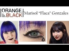 Orange is the New Black Flaca Makeup Tutorial