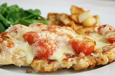 Gordon Ramsay's Chicken Escalope.  LOVE this.  So good and easy.