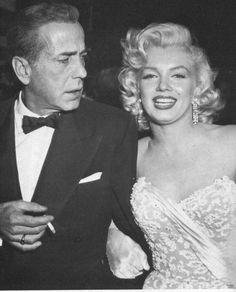 Marilyn Monroe & Humphrey Bogart