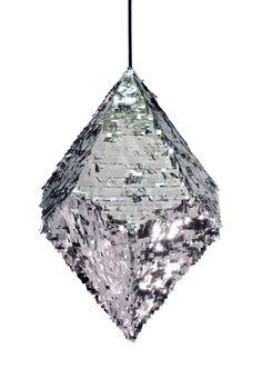 confetti systems silver pinata