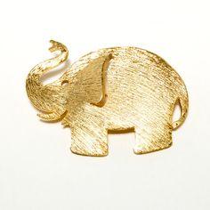 Vintage Signed Napier Elephant Brooch in by VintageMeetModern,