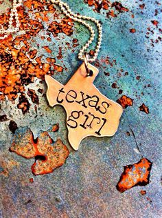 Texas Girl charm