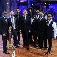 Jimmy Fallon & The Roots