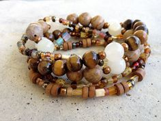 Bohemian stretch bracelets can be the highlight of any Boho chic outfit.