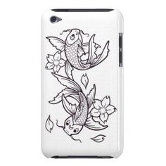 Koi fish iPod touch cover