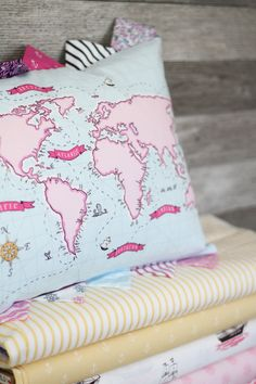 out to sea fabric by sarah jane
