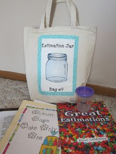 Take Home bags... students take home different bags with themes as their homework.