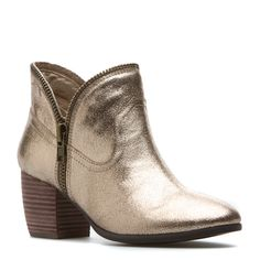 Metallic boot
