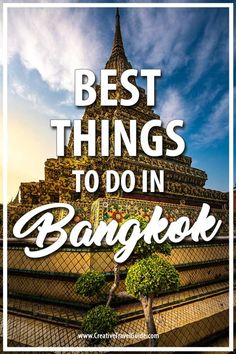We are officially moving to Bangkok in THREE WEEKS so what better way to celebrate than an awesome guest post from James on the best things to do in Bangkok!   #Bangkok #BangkokTravel #Thailand #ThailandThingsToDo #BangkokThingsToDo