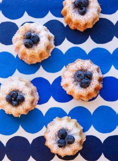 MINI CARDAMOM CREAM CAKES via BetterRecipes.com