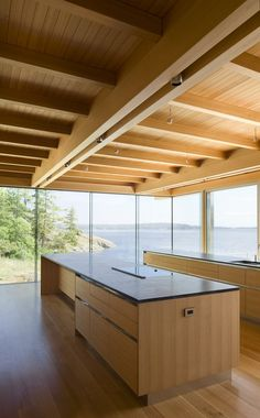 Gulf Islands Residence by RUFproject Amazing view