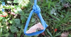 A tutorial on the bowline knot. An essential knot for wilderness survival and a very practical knot to learn.