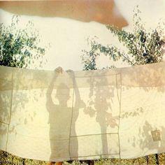 clotheslines, silhouett, shadow, art, place, light, clothes lines, summer sunshine, linen